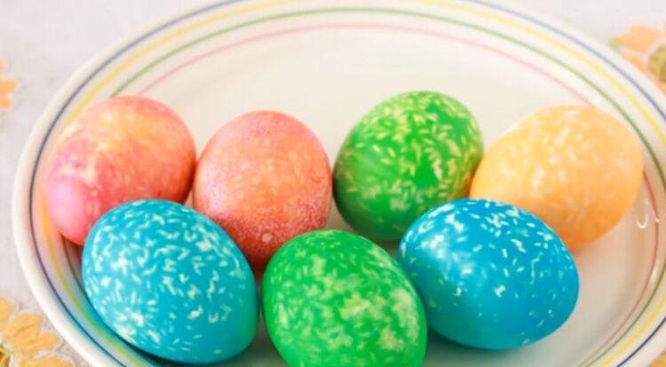 Яйца мраморные с рисом