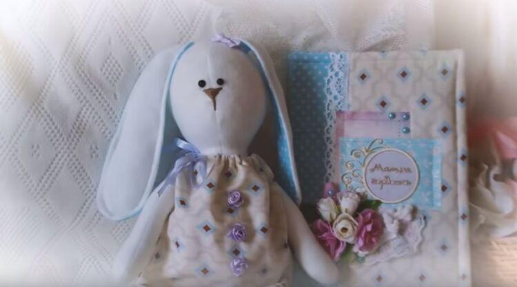 кролик тильда на Пасху