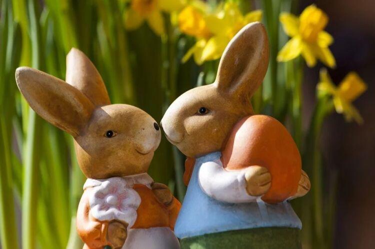 пасхальный кролик на пасху своими руками