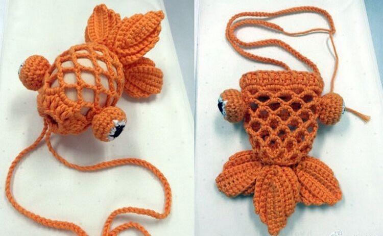 схема плетения яйца золотая рыбка