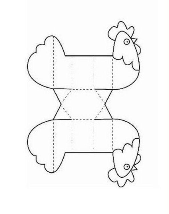 Как сделать подставку для яиц в виде курочки в детский сад