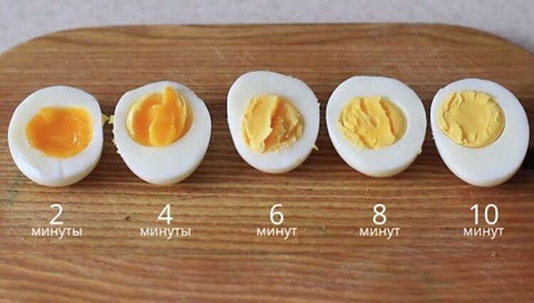 яйца отваривание