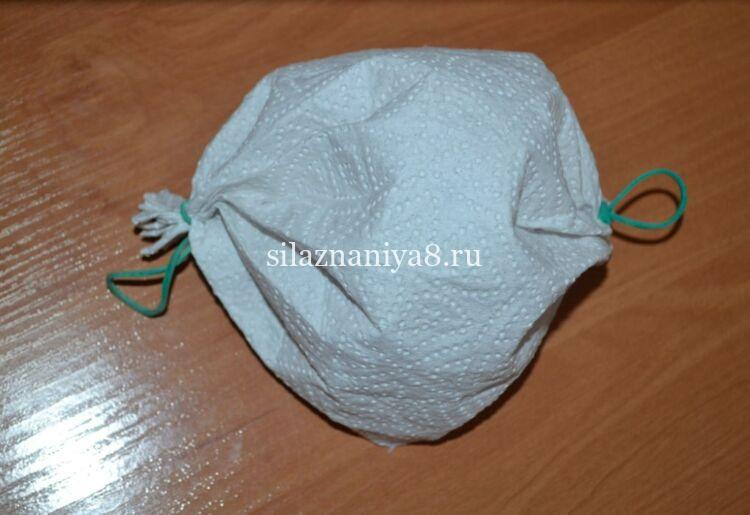 Как сделать одноразовую маску из бумажных полотенец за 2 минуты