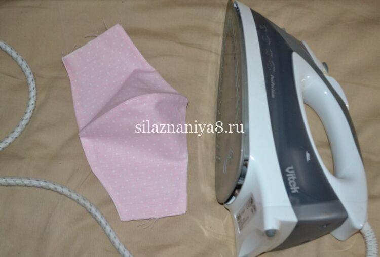 Как сшить медицинскую маску из ткани своими руками без швейной машинки