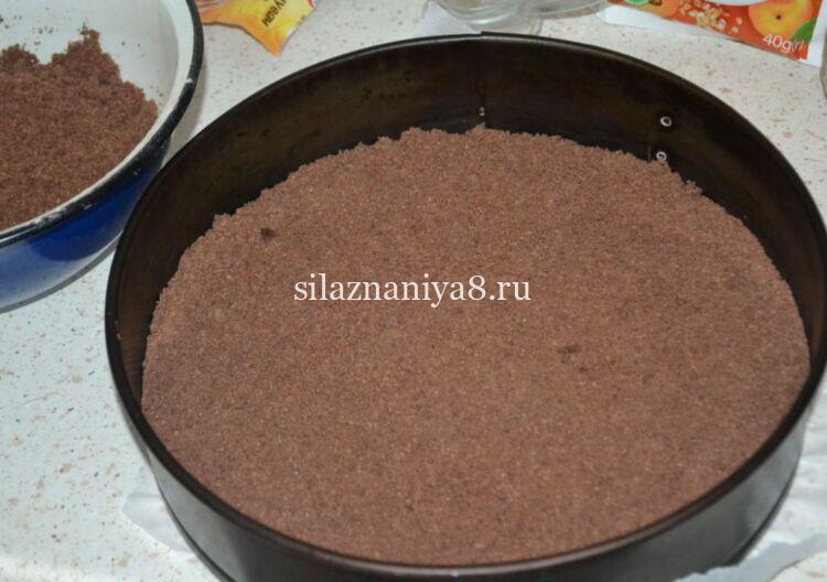 Шоколадная королевская ватрушка с творогом