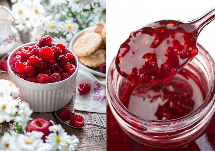 варенье из ягод малины