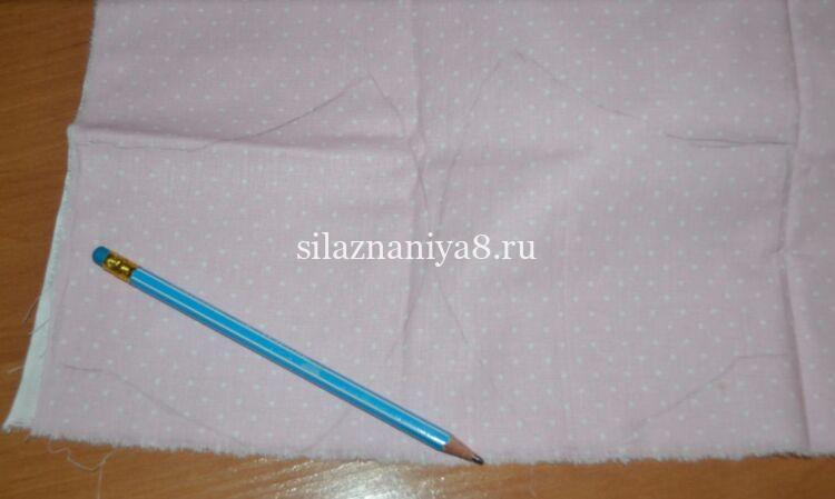 как сшить маску из ткани своими руками