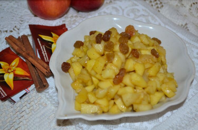 начинка для пирожков из яблок