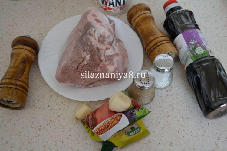 Буженина из свинины в духовке рецепт в фольге с горчицей и чесноком