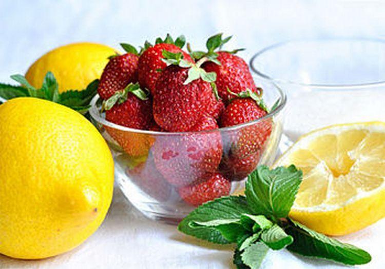 Джем из клубники с мятой и лимоном