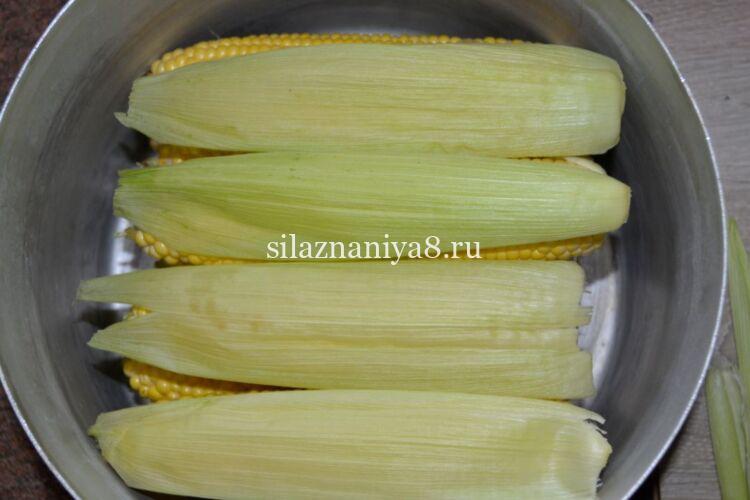 Как правильно сварить кукурузу в початках в кастрюле