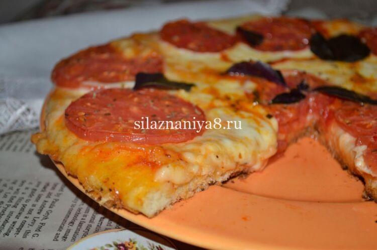 Маргарита пицца рецепт
