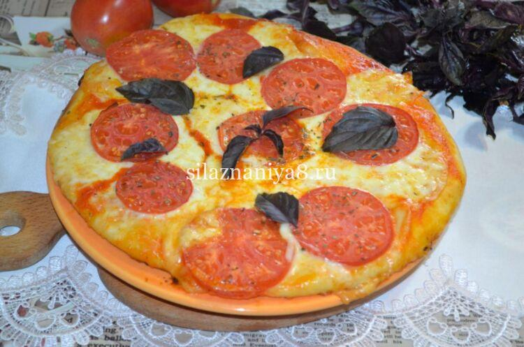 Пицца маргарита классический рецепт