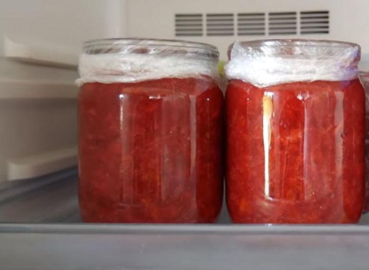 Рецепт клубники протертой в блендере для хранения в холодильнике
