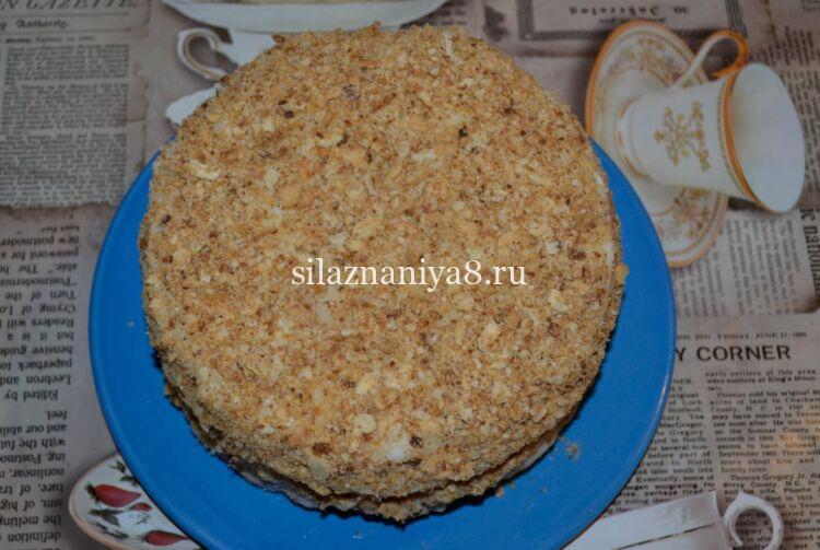 Рецепт самого вкусного торта наполеон с заварным кремом