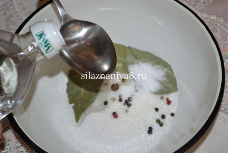 маринованные шампиньоны быстрого приготовления