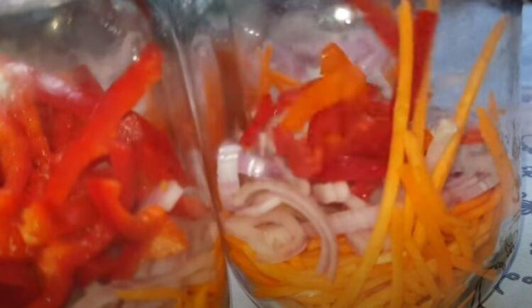 Кубанский салат без огурцов на зиму