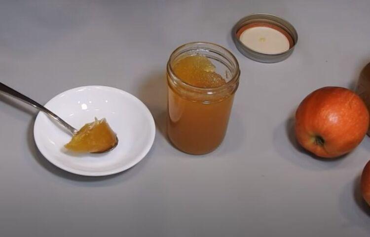 Густое яблочное повидло в домашних условиях с корицей