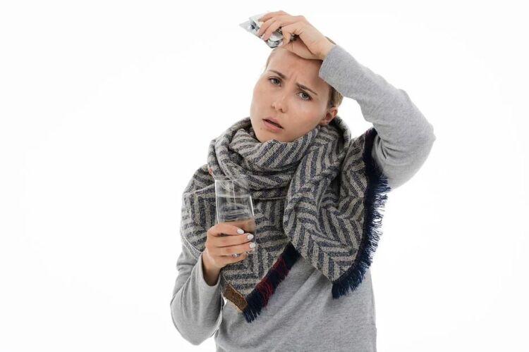 как снизить высокую температуру