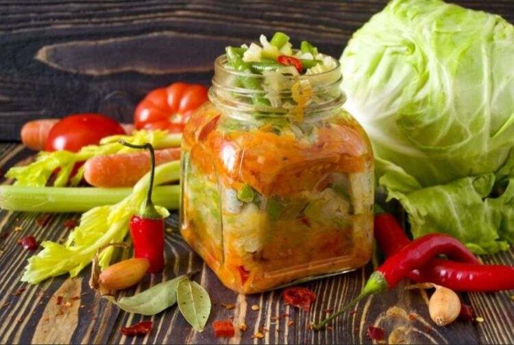 Охотничий салат на зиму