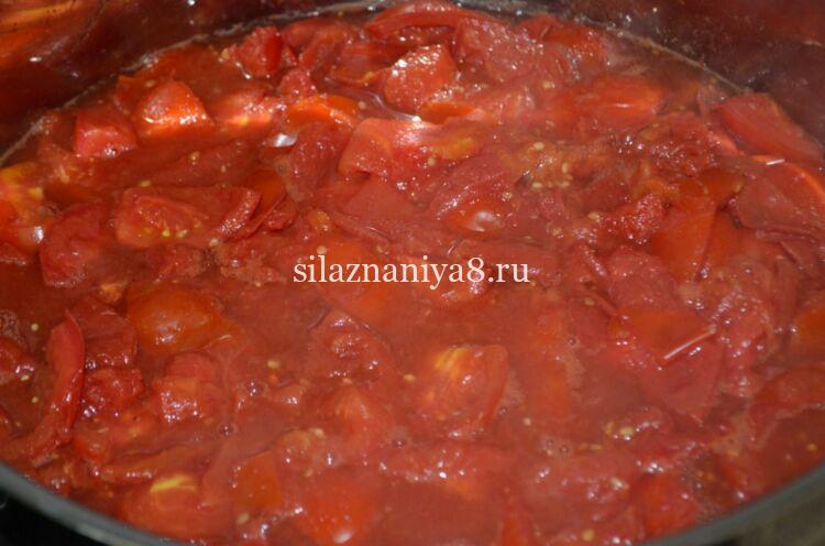 томатный сок без соковыжималки и мясорубки на зиму