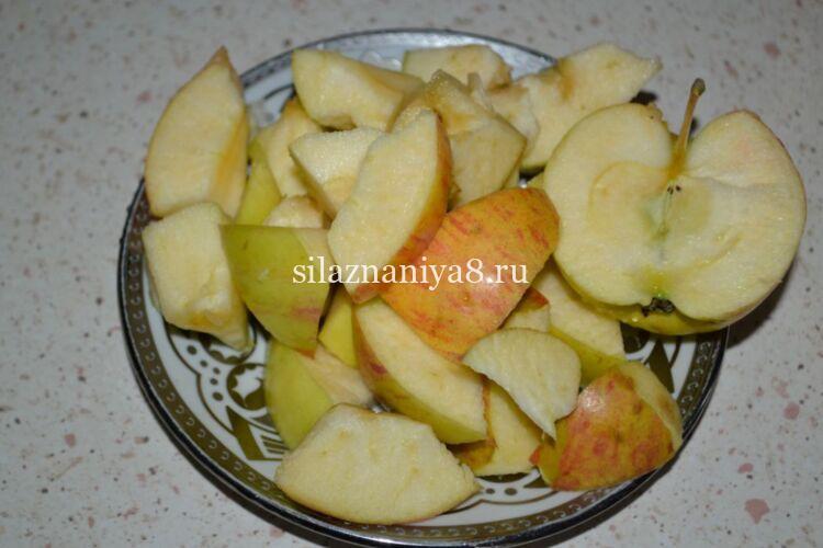 аджика из помидор и яблок на зиму
