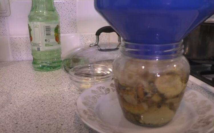 Белые грибы маринованные на зиму без стерилизации