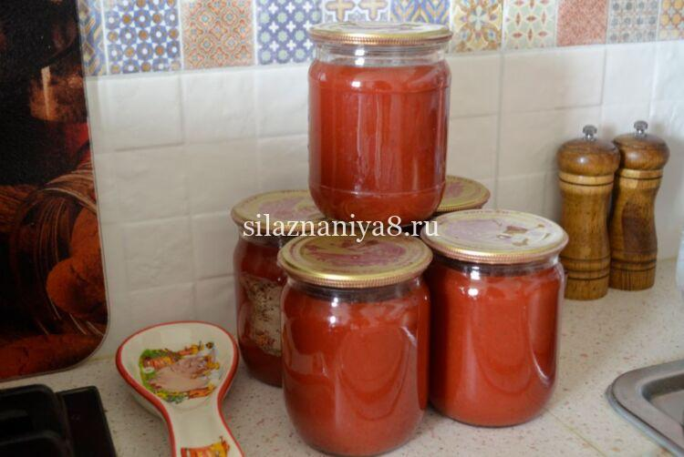 Кетчуп с луком в домашних условиях на зиму