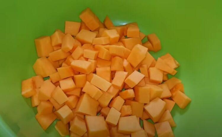 манго из тыквы на зиму