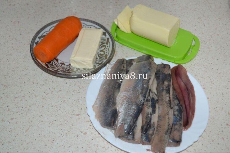 Как сделать селедочное масло с плавленым сыром