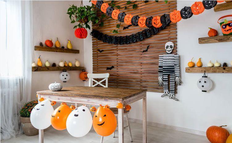 Как украсить дом или помещение на Halloween