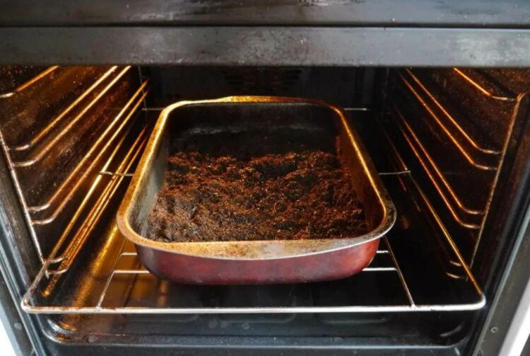 грунт земля в духовке