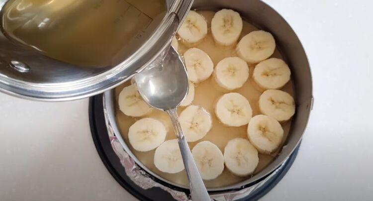 Банановый чизкейк в домашних условиях без выпечки