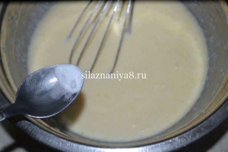 Как сделать блинчики с творогом на кефире и молоке