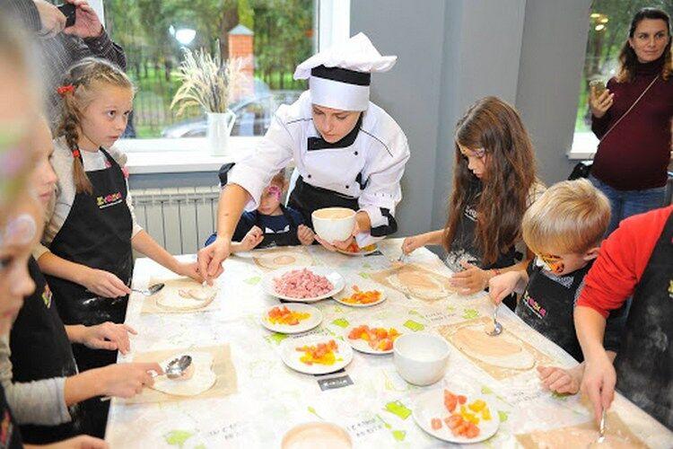 мастер класс для детей по кулинарии