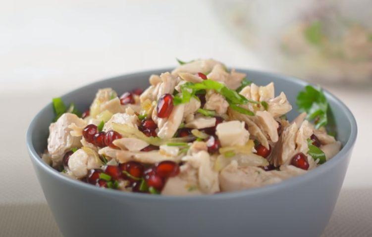 рецепт салата на новый год без майонеза