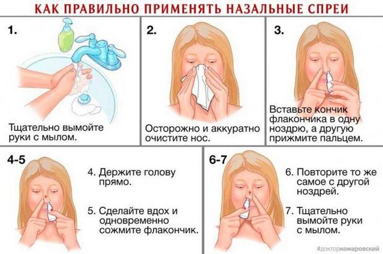 как промывать нос раствором морской соли