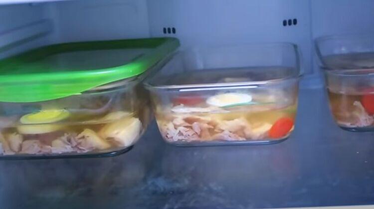 холодец из индейки в холодильнике