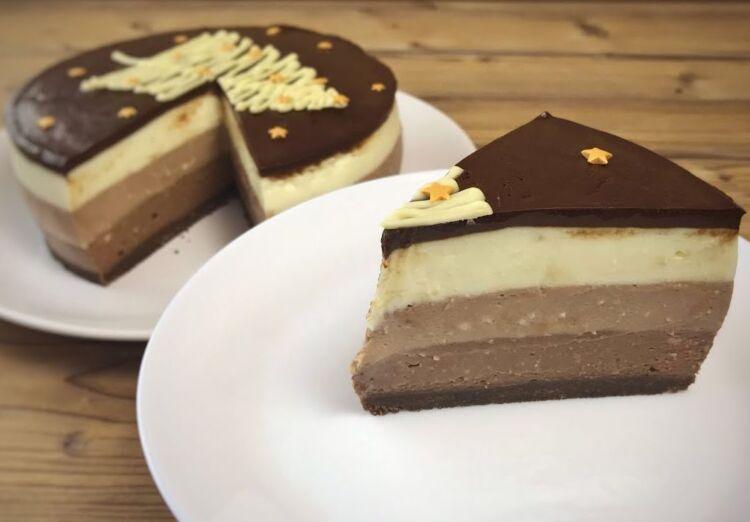 чизкейк 3 шоколада