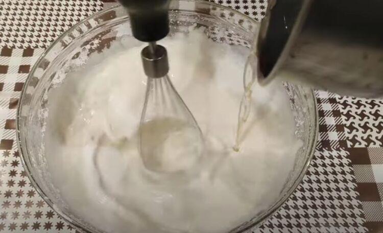 Торт Битое стекло со сметаной и желе