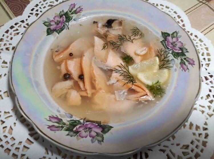 заливное из рыбы без желатина