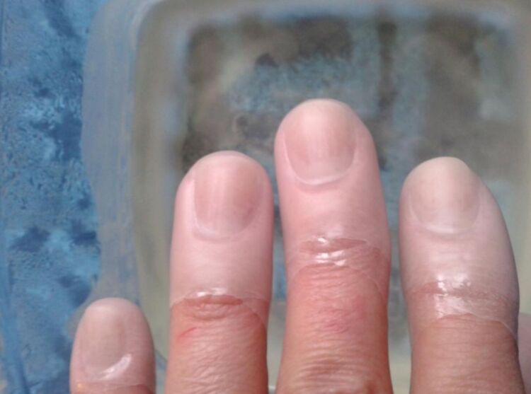 парафин ногти