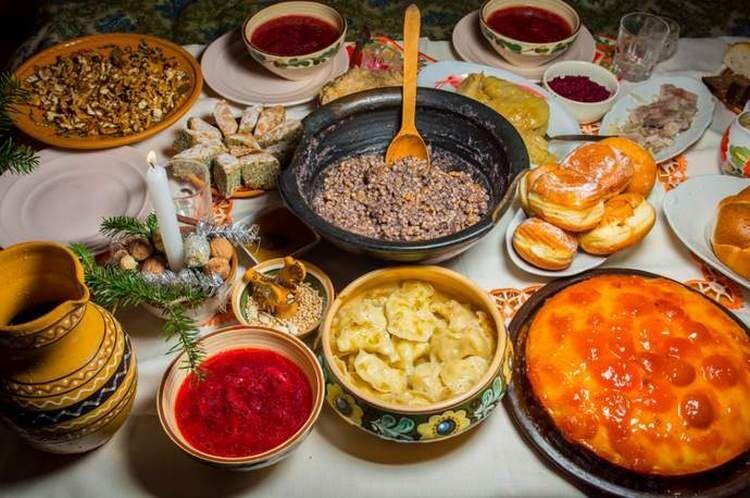 12 блюд на рождество