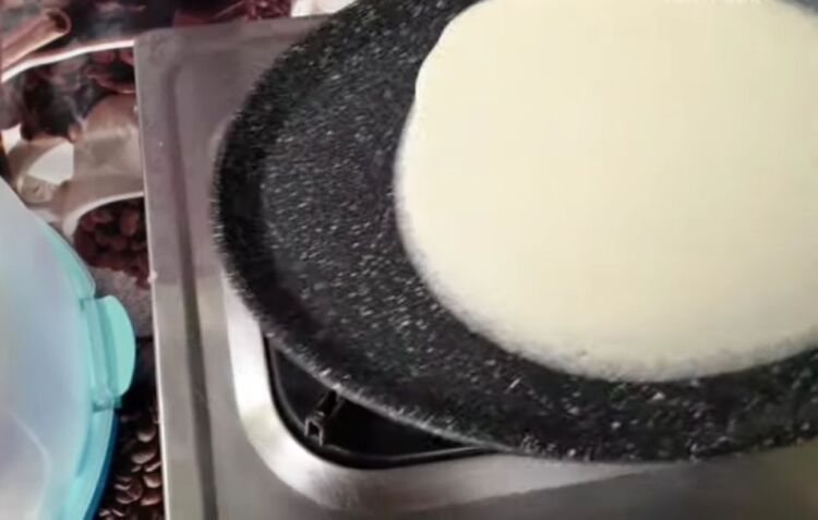 блины на 1 литр молока с кипятком