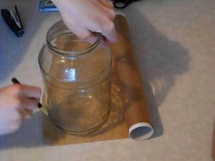 как сделать формы для куличей из пергаментной бумаги