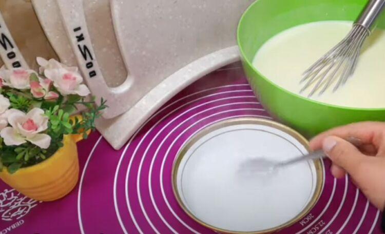 тесто для блинов на молоке на 1 литр