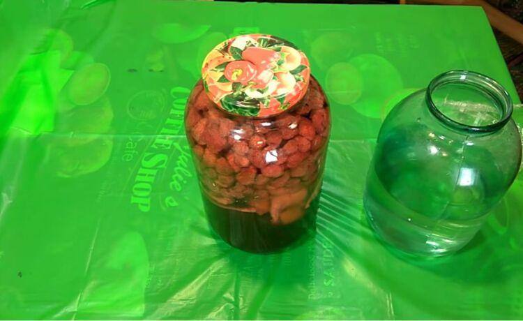 настойка из замороженной клубники на водке