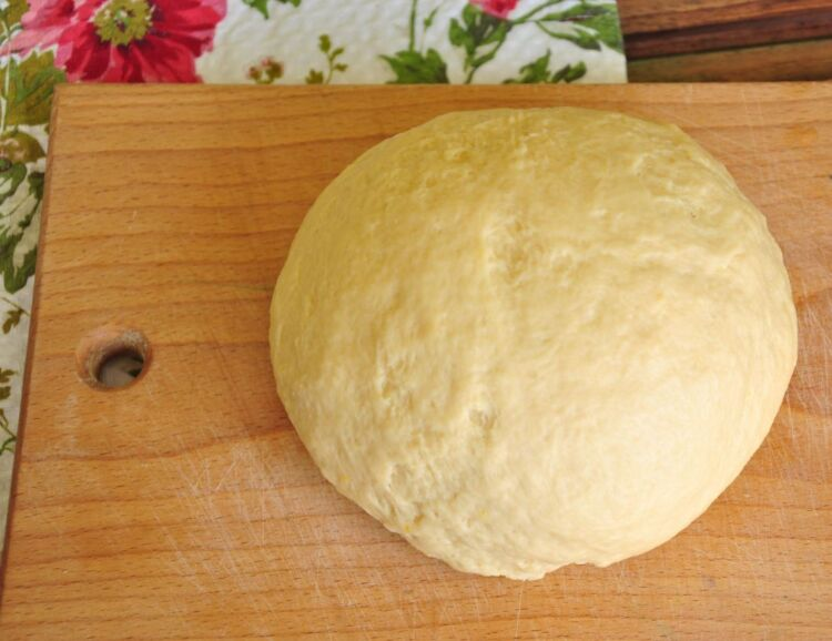 венское тесто для куличей с сухими дрожжами