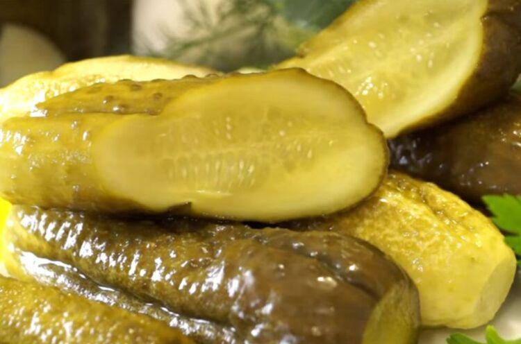 Сладкие консервированные огурцы с лимонной кислотой вместо уксуса