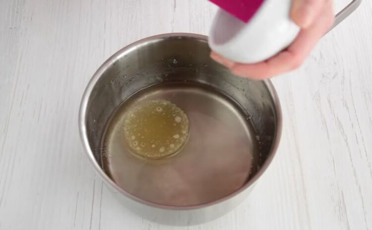 глазурь для кулича из сахарной пудры и желатина